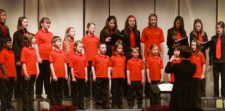 The Bel Canto Children's Choir is a great place for young singers to start to learn about music.