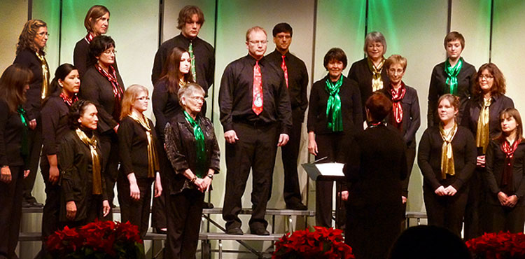 Northern Voices adult choir is specially designed for busy adults who love to sing but who have limited time for rehearsals.
