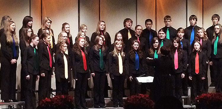 The Bel Canto Youth Choir has had a long standing history in Prince George as an advanced choir for youth ages 13 - 25.